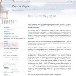 Censure dans les bibliothèques : l'ABF réagit