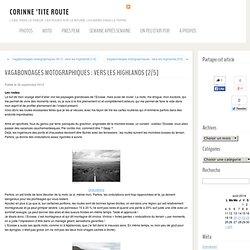 Vagabondages motographiques : vers les Highlands [2/5] « CORINNE 'TITE ROUTE