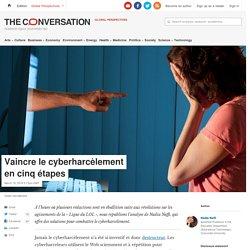 Vaincre le cyberharcèlement encinqétapes