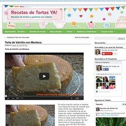 Torta de Vainilla con Manteca