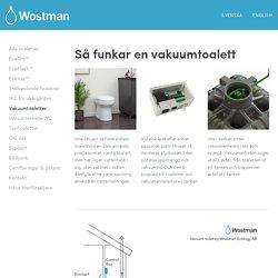 Vakuumtoaletter — Wostman