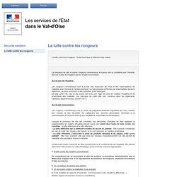 DRASS VAL D'OISE - 2009 - La lutte contre les rongeurs commensaux