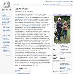 Val Plumwood