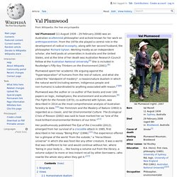Val Plumwood - Wikipedia