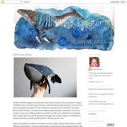 DIY Denim Whale