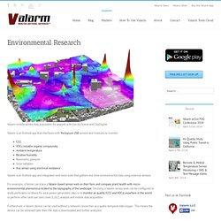 Environmental Research : Valarm