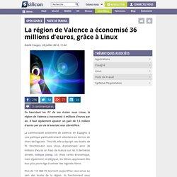 La région de Valence a économisé 36 millions d'euros, grâce à Linux