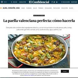 Recetas: La paella valenciana perfecta: cómo hacerla. Noticias de Alma, Corazón, Vida