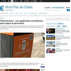 Valenciennes : une application smartphone pour payer le parcmètre