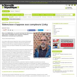 Valencisse s'oppose aux compteurs Linky - 06/01/2017