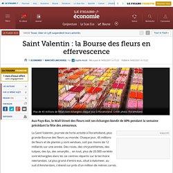 Saint Valentin : la Bourse des fleurs en effervescence