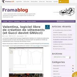 Valentina, logiciel libre de création de vêtements (et Gucci devint GNUcci)