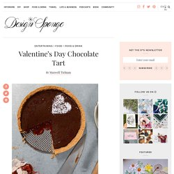 Valentine's Day Chocolate Tart – Design*Sponge