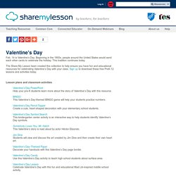 Valentine's Day Collection - Lesson Plans