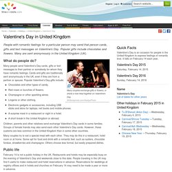 Valentine's Day in United Kingdom