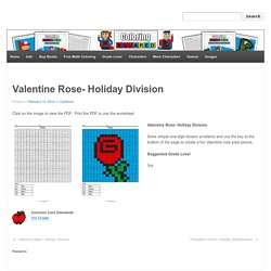 Valentine Rose- Holiday Division - Coloring Squared