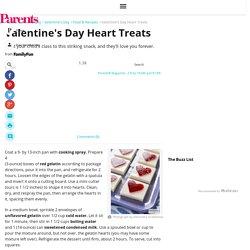 Valentine's Day Heart Treats