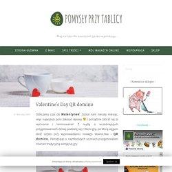 Valentine's Day QR domino
