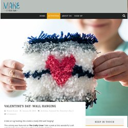 » Valentine's Day: Wall Hanging