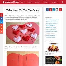 Valentine's Tic Tac Toe Game