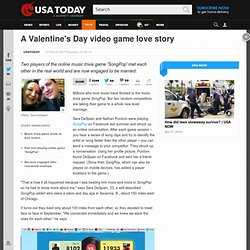 A Valentine's Day video game love story
