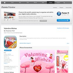 Valentine Wishes for iPhone