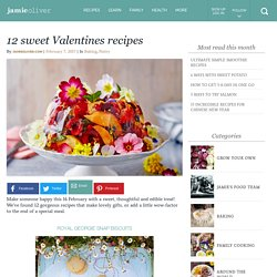 12 sweet Valentines recipes - Jamie Oliver