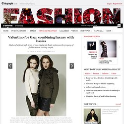 Valentino for Gap: combining luxury with basics