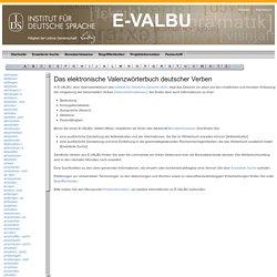 Valenzwörterbuch E-VALBU