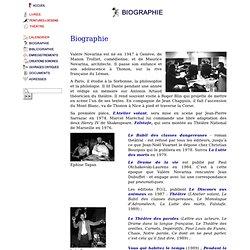 Valère Novarina : biographie