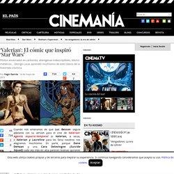 'Valerian': El cómic que inspiró 'Star Wars' - CINEMANÍA