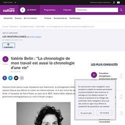 """Valérie Belin : """"La chronologie de mon travail est aussi la chronologie d'une vie"""""""