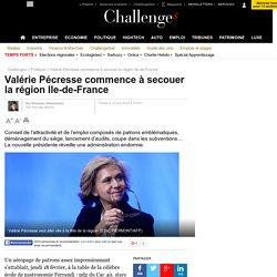 Valérie Pécresse commence à secouer la région Ile-de-France