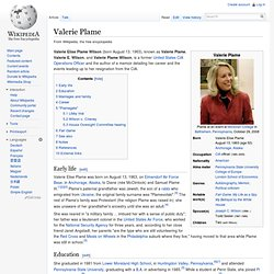 Valerie Plame