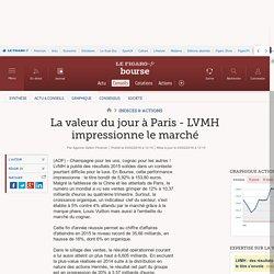 La valeur du jour à Paris - LVMH impressionne le marché