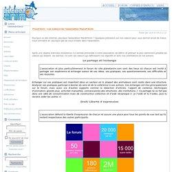 Les valeurs de l'association Planet'Anim - Planet'Anim
