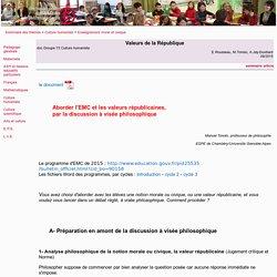 Valeurs de la République -