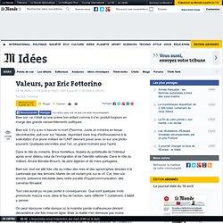 Valeurs - Edito du Monde