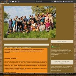 Les valeurs qui nous rassemblent - Eco-hameau d'Andral