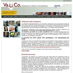 Valico validazione libretto formativo