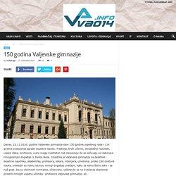150 godina Valjevske gimnazije - VA014 INTERNET PORTAL