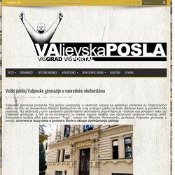 Veliki jubilej Valjevske gimnazije u vanrednim okolnostima - Valjevo