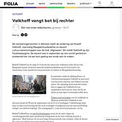 Valkhoff vangt bot bij rechter