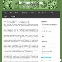 Välkommen till Immunocoaching « Immunocoaching