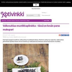 Valkosuklaa-mustikkapiirakka – tässä on kesän paras makupari