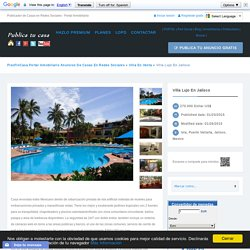 Villa lujo en Jalisco Puerto Vallarta – Portal Inmobiliario Publicar anuncios de piso finca casa
