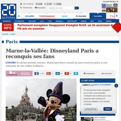 Marne-la-Vallée: Disneyland Paris a reconquis ses fans