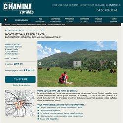 Monts et vallées du Cantal, randonnée liberté Massif central