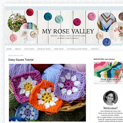My Rose Valley: Daisy Square Tutorial