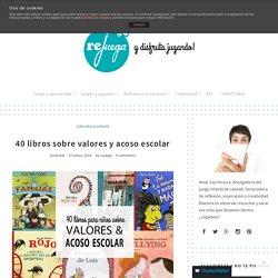 40 libros sobre valores y acoso escolar